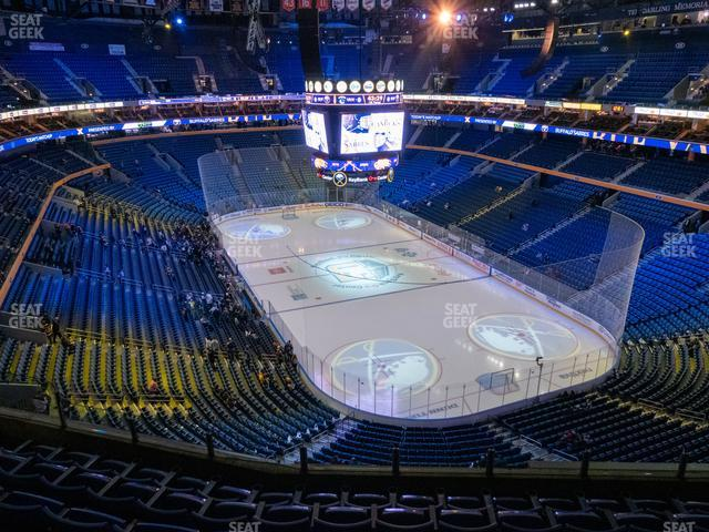 KeyBank Center Section 301 view