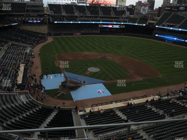Target Field Section 212 view