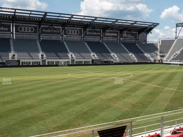 Audi Field Section Club 7 view