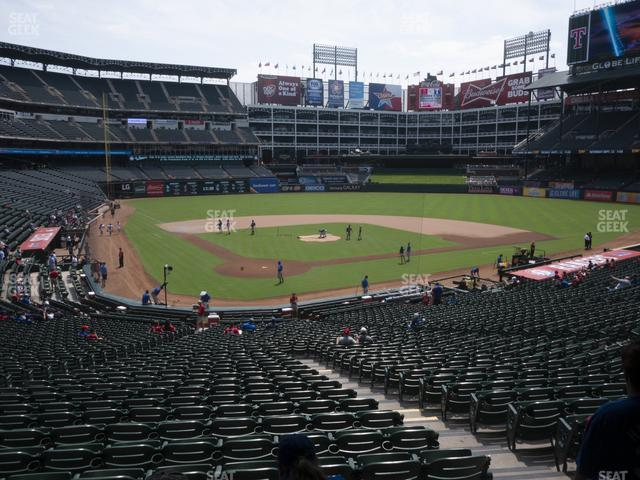 Globe Life Park Section 128 view
