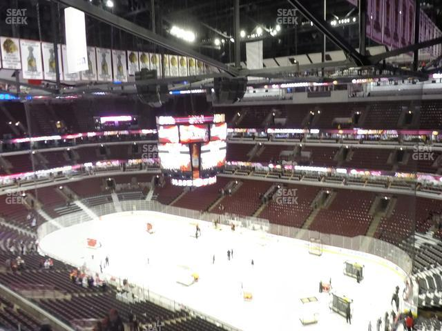 United Center Section 331 view