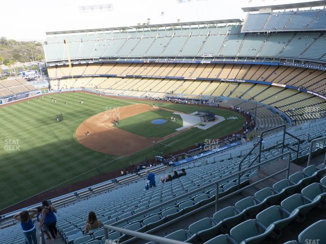 Dodger Stadium Reserve 33 view