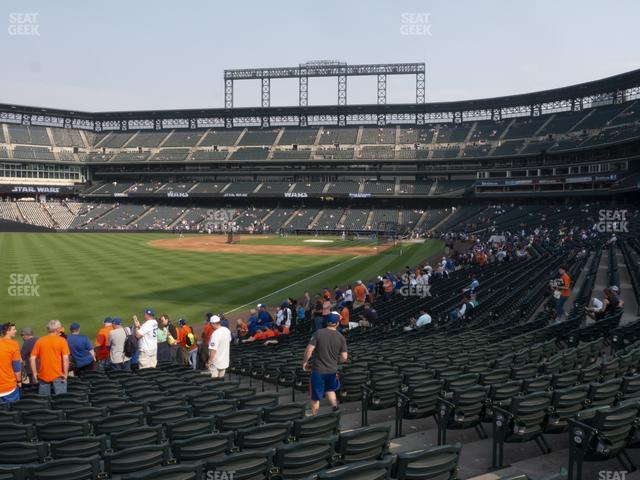 Coors Field Section 149 view