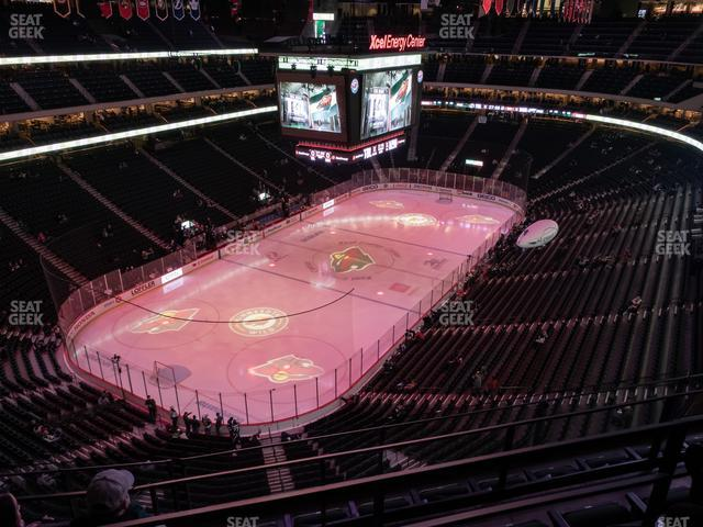 Xcel Energy Center Section 208 view