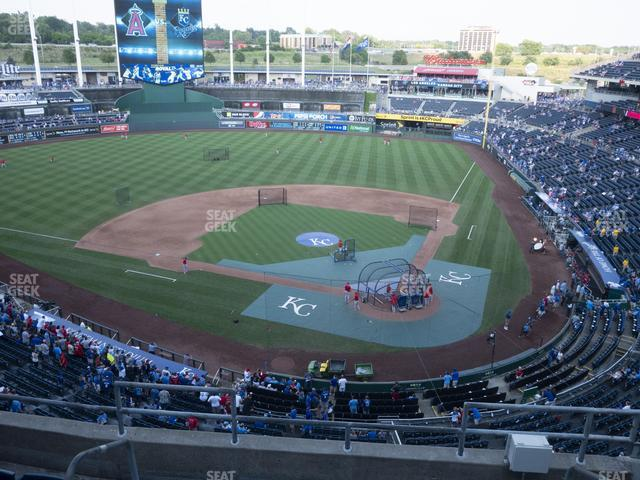 Kauffman Stadium Section 416 view