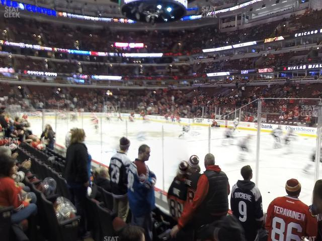 United Center Section 120 view