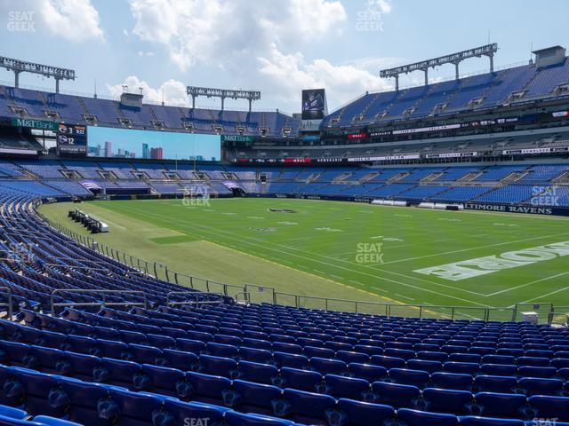 M&T Bank Stadium Section 146 view