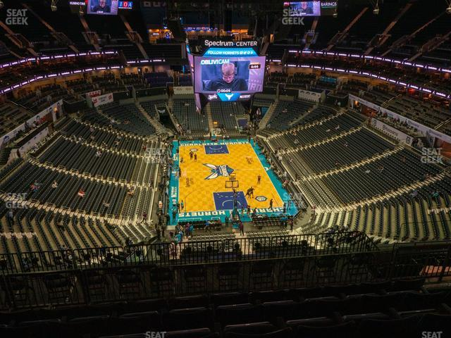 Spectrum Center Section 201 view