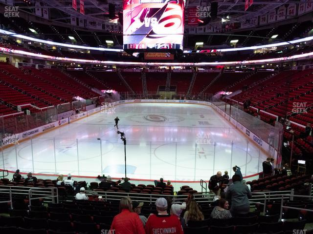 PNC Arena Section 126 view