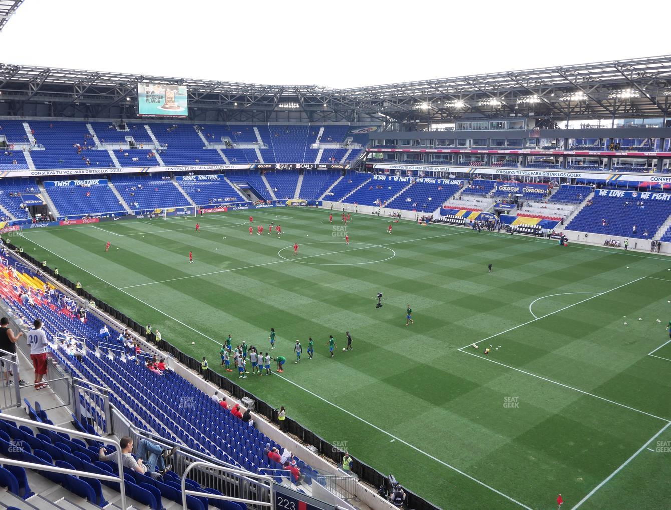 Red Bull Arena Section 222 Seat Views Seatgeek