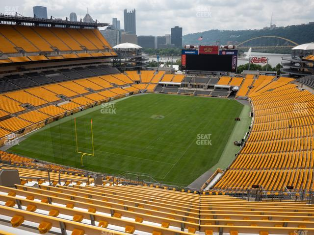 Heinz Field Section 526 view