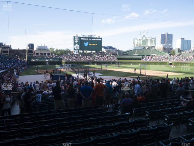 Wrigley Field Section 121 view