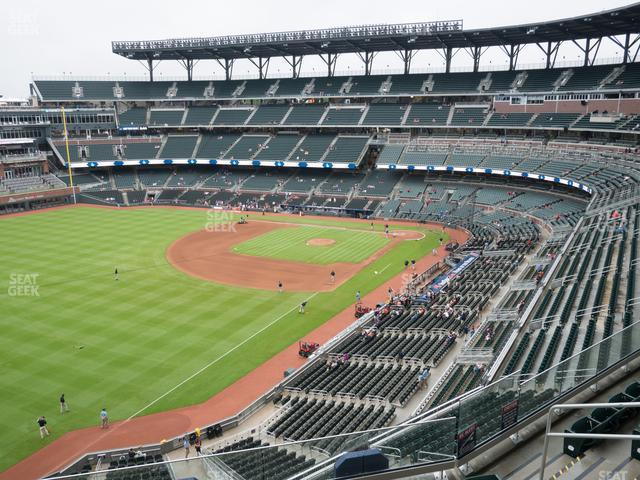 SunTrust Park Section 342 view