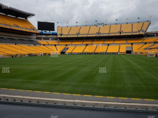 Heinz Field Section FS 4 view