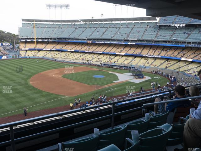Dodger Stadium Suite 203 view