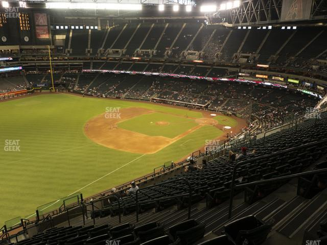 Chase Field Section 329 view