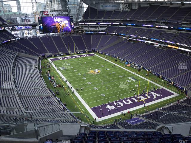 U.S. Bank Stadium Section 331 view