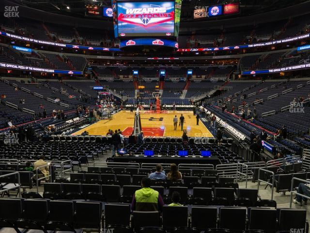 Capital One Arena Section 106 view
