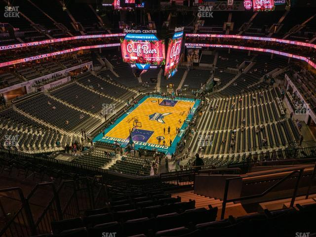 Spectrum Center Section 215 view