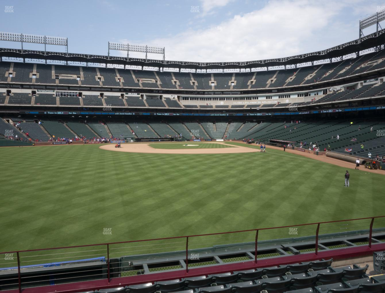 International Champions Cup at Globe Life Park Section 4 View