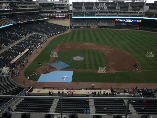 Target Field Section 210 view