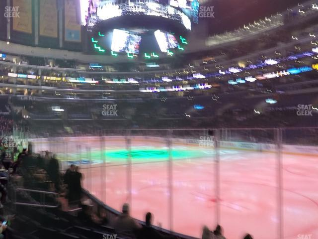 Staples Center Section 117 view