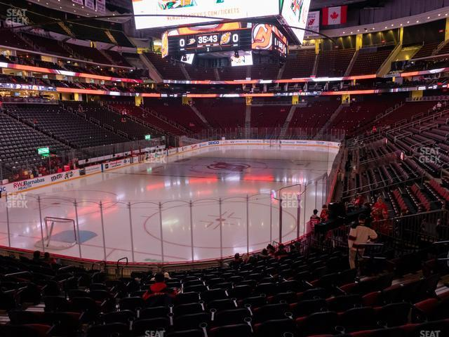 Prudential Center Section 15 view