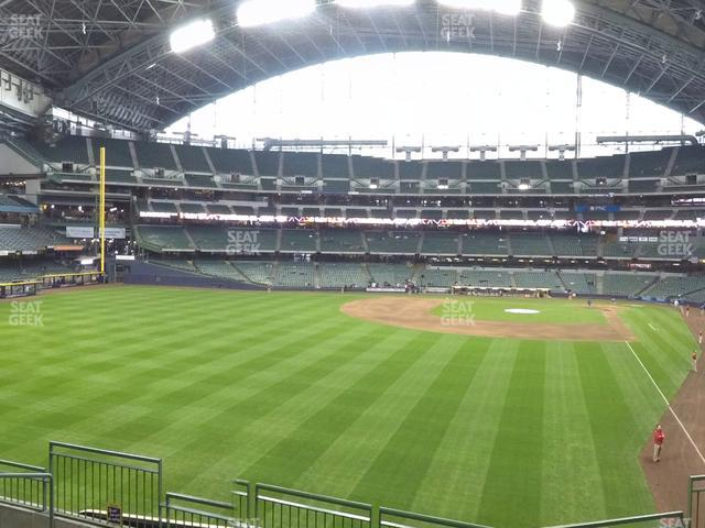 Miller Park Section 234 view