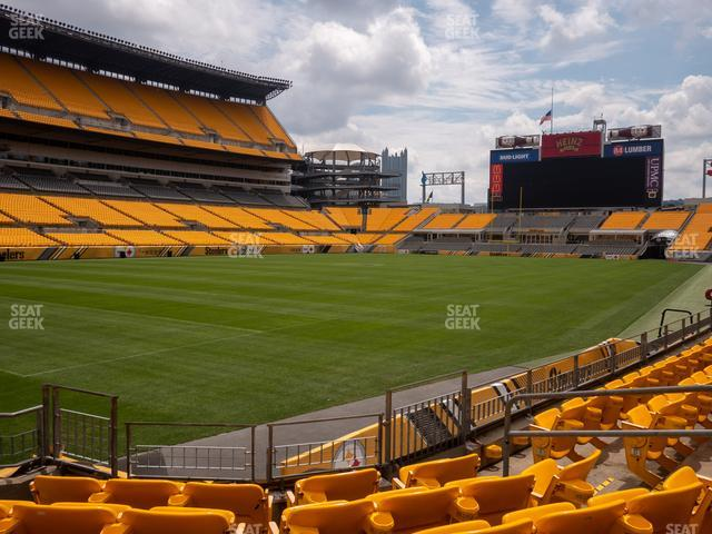Heinz Field Section 126 view