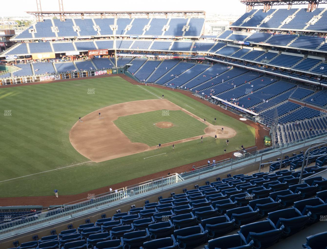 Philadelphia Phillies at Citizens Bank Park Section 428 View