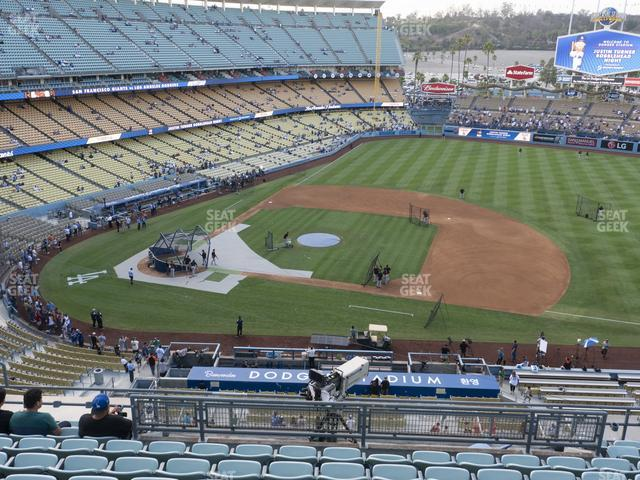 Dodger Stadium Reserve 20 view