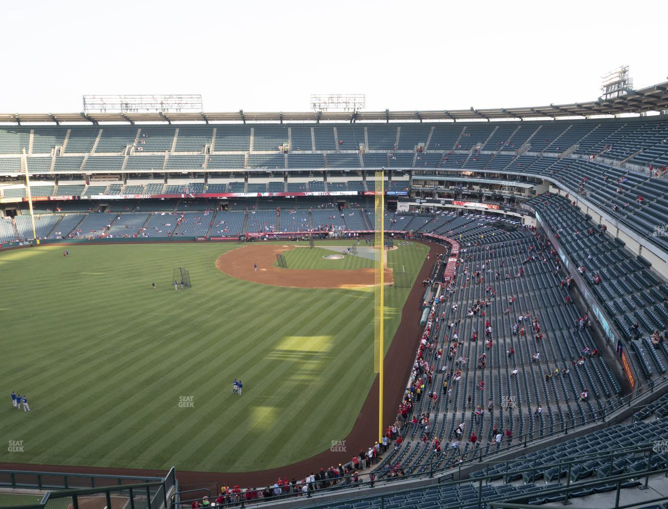 Los Angeles Angels at Angel Stadium of Anaheim Section 501 View