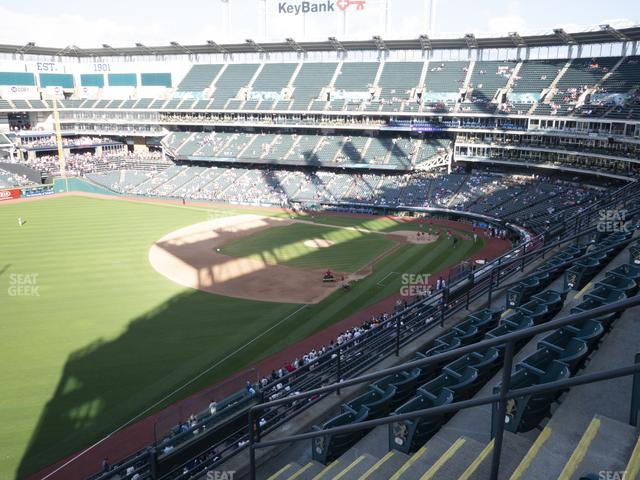 Progressive Field Section 476 view