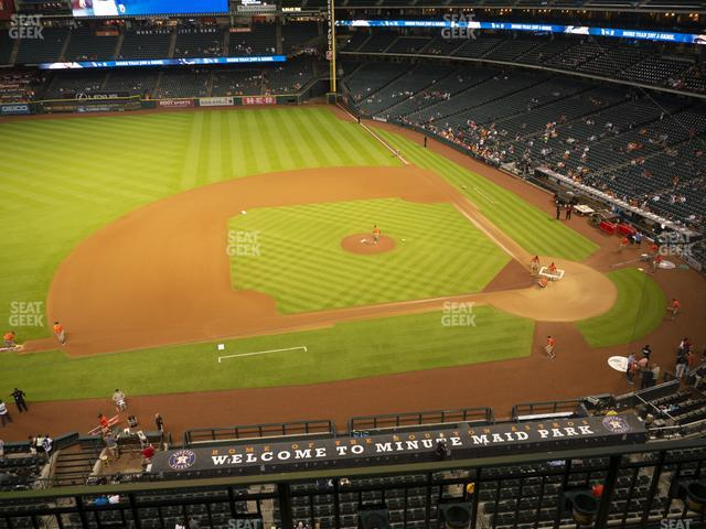 Minute Maid Park Section 313 view