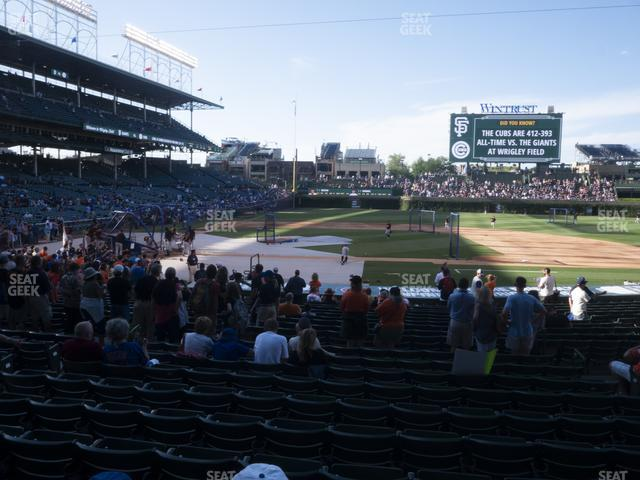 Wrigley Field Section 123 view
