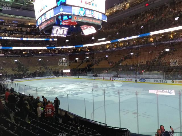 Scotiabank Arena Section 105 view