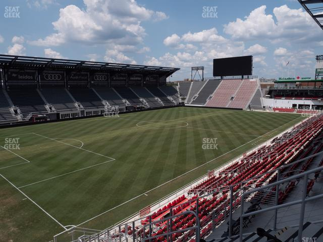 Audi Field Section 111 view