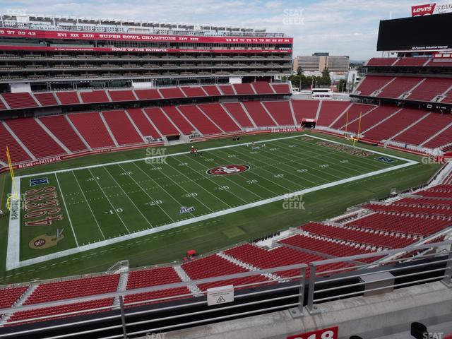 Levi's Stadium Section 318 view