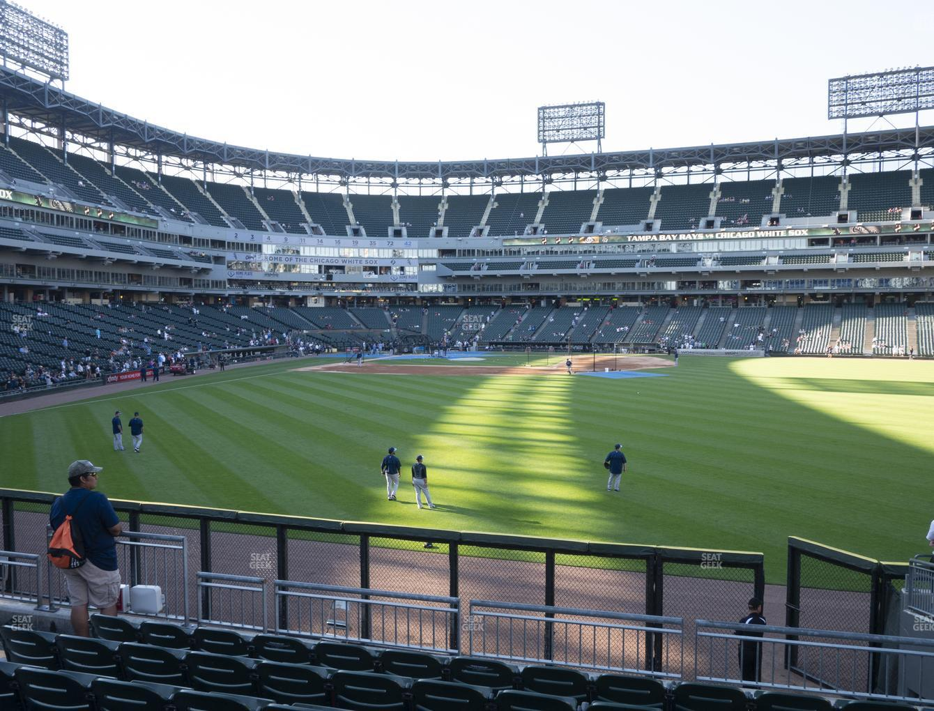 Chicago White Sox at Guaranteed Rate Field Section 104 View