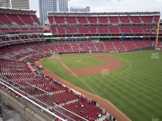 Great American Ball Park Section 437 view