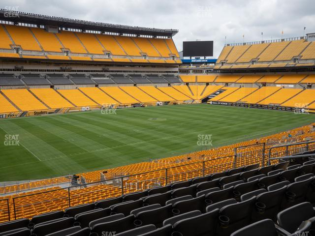 Heinz Field Section 206 view
