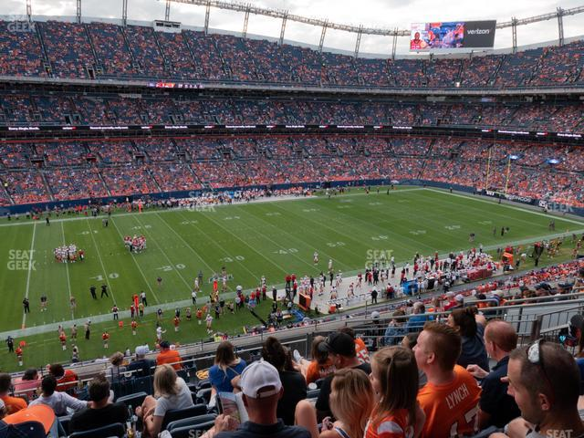Empower FIeld at Mile High Section 341 view