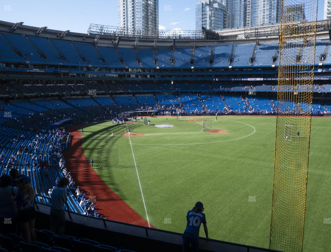 Toronto Blue Jays at Rogers Centre Section 209 R View