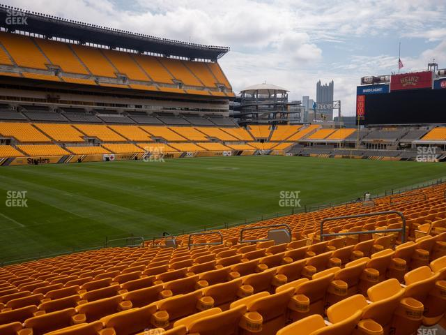 Heinz Field Section 130 view