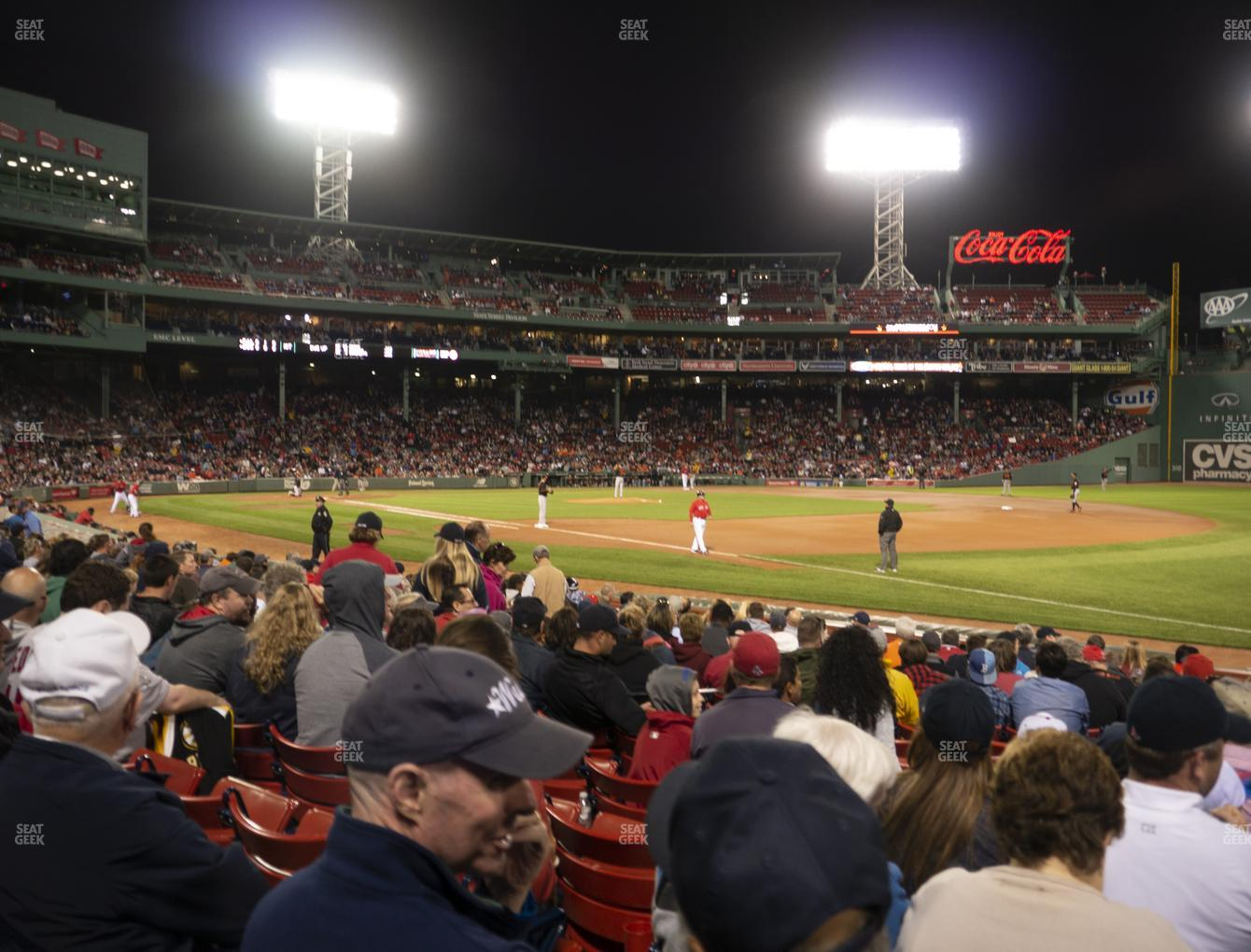 Boston Red Sox at Fenway Park Loge Box 101 View