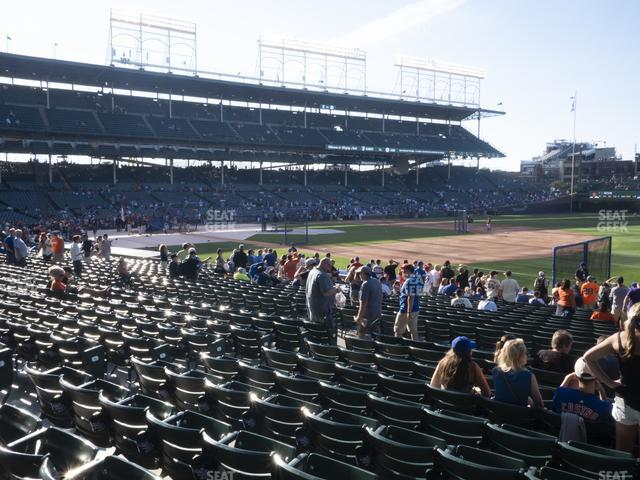Wrigley Field Section 128 view