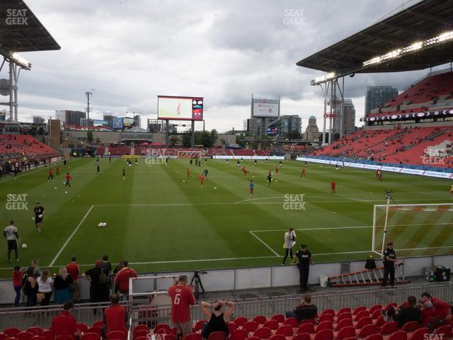 BMO Field Section 116 view