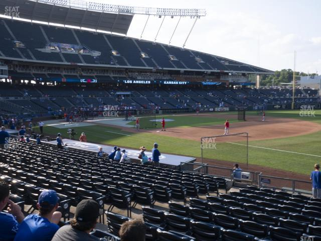 Kauffman Stadium Section 140 view