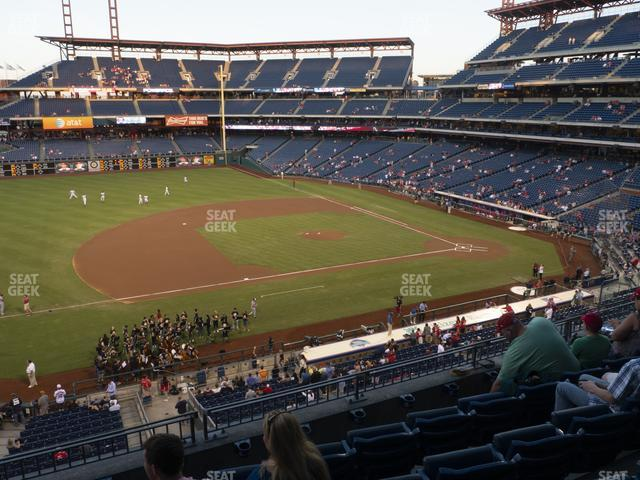 Citizens Bank Park Section 230 view