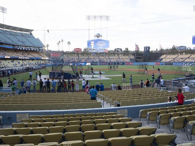 Dodger Stadium Field Box 8 view